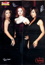 TV Series CHARMED + BILLY CRAWFORD: 8 PAGES FRENCH POSTER CLIPPING (23 x 32 inch