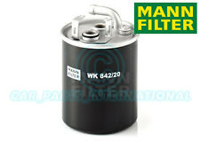 Mann Hummel OE Quality Replacement Fuel Filter WK 842/20