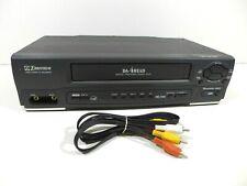 Emerson Ewv401A 4 Head 19 micron Vcr Hi-Fi Stereo Vhs Video Cassette Recorder