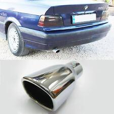 Coche Escape Deportivo Silenciador De Tubo Cromado de ajuste de la punta se Ajusta BMW 3 Series E36 92 - 95