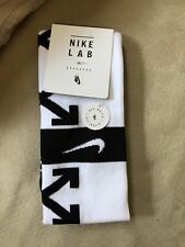 NIKE x OFF WHITE Soccer Socks (White) * SOLD OUT * New Nikelab FB FOOTBALL