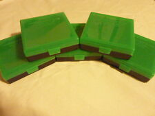 9 mm / 380 Ammo cases / boxes (5 PACK) ZOMBIE color 500 rnds of storage 9 mm