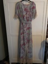 ASOS Floral & Lace Maxi Size 18 New With Tags