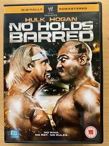 No Holds Barred DVD 1989 WWE / WWF Wrestling Film Classic with Hulk Hogan