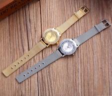 Reloj lujo D Q G de mujer mecanismo de cuarzo analógico y correa Milanaise malla
