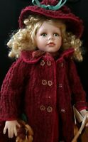 """Show Stoppers 18"""" Porcelain Doll, """"Melanie"""", from Florence Maranuk Collection"""