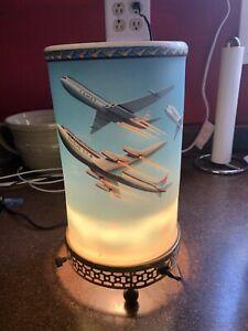 Vintage 1958 Econolite Jet Airplanes Flying Motion Lamp