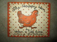 Vtg HC book, The Happy Hen by Helen & Alf Evers, 1933  RARE!!
