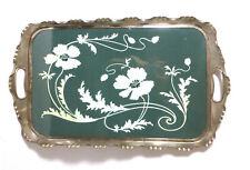 Jugendstil Tablett um 1900 Villeroy & Boch Dresden