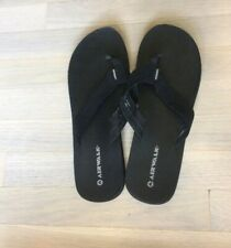 womens payless Airwalk sandals shoes flip flops black size 11 rare HTF vintage