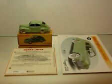 DINKY TOYS ATLAS 24R PEUGEOT 203 - GREEN 1:43 - EXCELLENT IN BOX