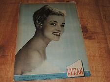 Ekran 21/1958 polish magazine Jeanne Moreau, Belinda Lee, Sophia Loren, L Gish