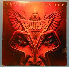 """/""""Never Surrender/"""" 1981 Bumper Sticker  RARE Triumph"""