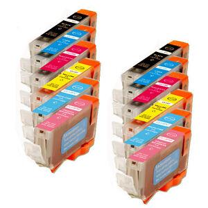12 PK New Ink Combo for BCI-6 Canon Pixma i950 i960 i900D i9100