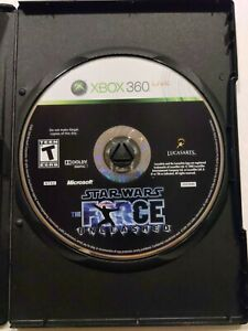 Star Wars: The Force Unleashed (Microsoft Xbox 360, 2008)disc and generic case