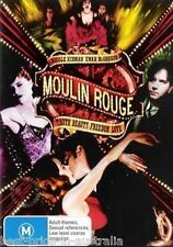Moulin Rouge DVD TOP 1000 MOVIES Nicole Kidman Ewan McGregor BRAND NEW R4