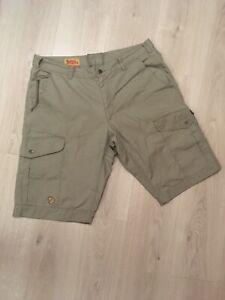 Fjallraven G1000 Size 54 XL Grey Cotton Shorts