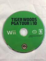 Tiger Woods PGA Tour 10 (Nintendo Wii, 2009). Free Shipping. Golf
