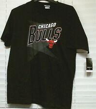 Mens NBA Chicago Bulls T-Shirt, Black, Large, NWT