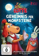 LOTTE UND DAS GEHEIMNIS DER MONDSTEINE   DVD NEU