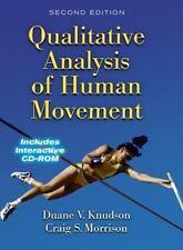 Qualitative Analysis of Human Movement, Craig Morrison Duane Knudson (w/CD-ROM)