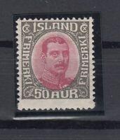 E3089/ ICELAND – MI # 95 MINT MH – CV 365 $