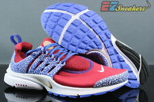 NIKE AIR PRESTO QS SAFARI PACK GYM RED RACER BLUE 886043-600 NEW SIZE: 10