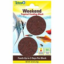 Tetra Vacation Weekend Tropical Goldfish 5 Day Feeder Block Fish Food 2 Pack