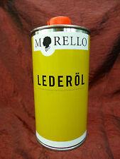 500ml(31,70€/1000ml) Morello Lederöl macht Leder weich Oel Pflege