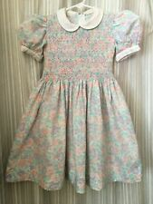 Feltman Brothers? Smocked  Embroidered Dress Size 6   (See measurements )