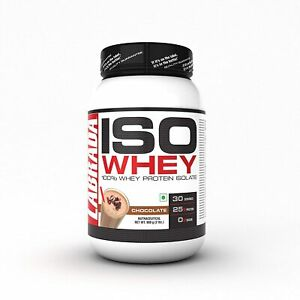 Labrada Iso Whey 100%Whey Protein Isolate Perfect For Athletes Fitness Chocolate