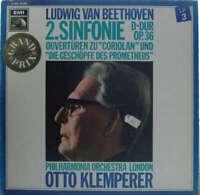 Ludwig van Beethoven, Otto Klemperer, Philharmon Vinyl Schallplatte - 139447