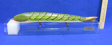 Northern Pike Hinged Fish Decoy Fishing Decor Lure Grand Daddy Baits Folk Art