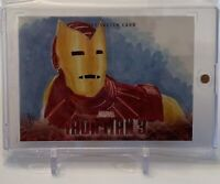 IRON MAN TONY STARK UPPER DECK MARVEL ARTIST SKETCH AUTOGRAPH ART CARD 1/1