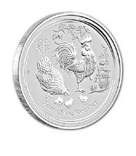 Lunar II Jahr des Hahn Year of the Rooster 2017 5 OZ Silber Silver Australien
