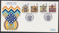 Great Britain 1990 FDC Cover Europa Architecture Buildings Alexandra Palace