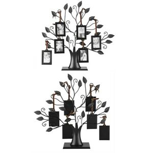 Family Tree Hanging Photo Frame Display Holder With 6 Pictures Frame Home Decor
