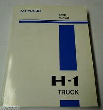 Werkstatthandbuch 2001 / Workshop Manual Hyundai H - 1 / H-1 Truck 2000-2003