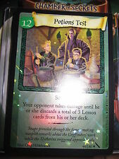 HARRY POTTER TCG CARD CHAMBER OF SECRETS POTIONS TEST 44/140 RARE FOIL MINT