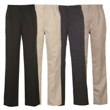 Dunlop Herren Golfhose Golf Hose 30-42 schwarz / beige