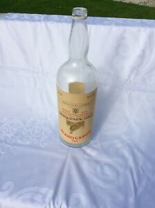 Large 4.5L  Famous Grouse Scotch Whiskey Bottle - coin saving