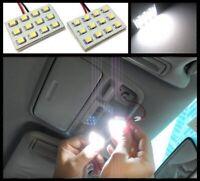 2x 5000k White Map Dome Trunk Interior Light 12 LED panels for Nissan Infiniti