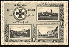 AK-Aulendorf-Schloss-Brauerei-Härle-Bahnhofstraße-Eisernes-Kreuz-1914-