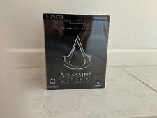 ASSASSIN'S CREED BROTHERHOOD -- COLLECTOR'S EDITION LOT PS3 w/ GAME
