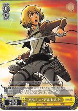 Attack on Titan Shingeki no Kyojin Trading Card TCG CH AOT/S35-T01 TD Armin Arle