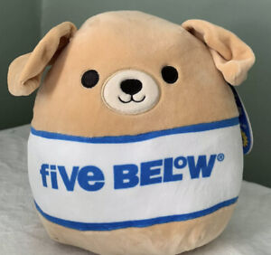 "Squishmallow Spencer The Tan Dog 8"" Five Below Exclusive Squishmallows"