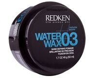 REDKEN Water Wax 03 Defining Pomade 1.7oz***NEW***