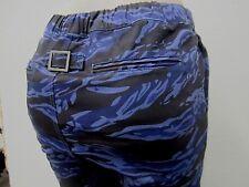 NWT KAYDEN.K Men's Elastic Waist Drop Crotch  Pattern Stretch Twill JOGGER Pants