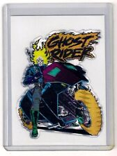 GHOST RIDER  - 1990s Vending  Prism Sticker Marvel  Card