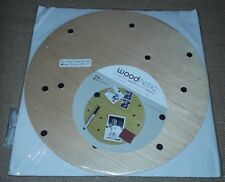 """Wood Magnet Board MAPLE with Magnets 12"""" Round NEW"""